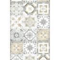 Lé unique Carreaux de ciment beige - BON APPETIT - Caselio - BAP68501012
