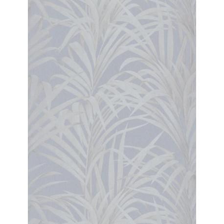 Papier peint Fougères bleu - LOUISE - Casadeco