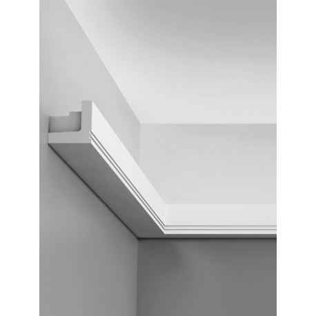 Corniche plafond d'éclairage indirect C361 STRIPE - LUXXUS - Orac Decor