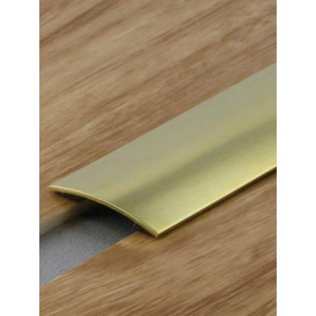 2,70mx30mm - Barre de seuil laiton poli - adhésive plate - Presto - DINAC