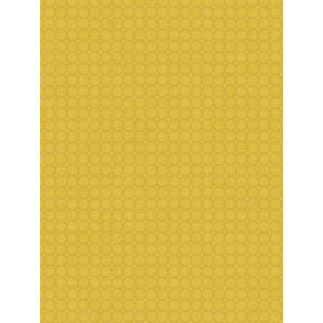 Papier peint jaune Semi Allower- SWING - Caselio