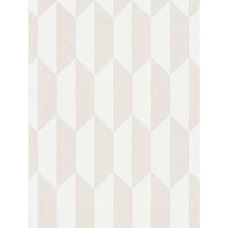 Papier peint intissé scandinave motif losange beige - BJORN - AS CREATION