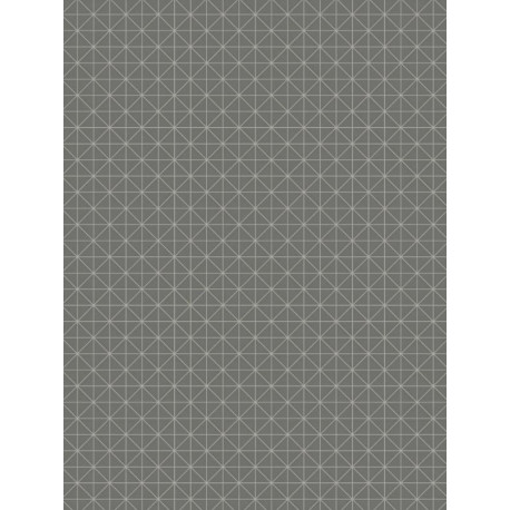 Papier peint intissé Origami gris anthracite - TONIC Caselio