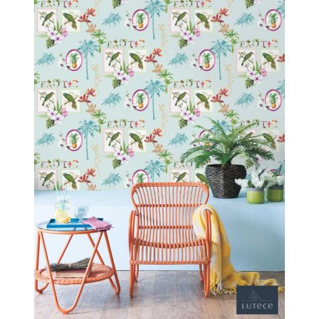 Papier peint tropical EXOTIC - Collection Mojito Lutèce