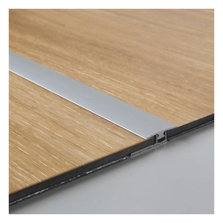 Profilé de dilatation en aluminium Livyn - pour sol vinyle PVC.