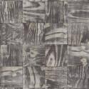 Papier peint Patchbois noir - MATERIAL - Caselio - MATE69689092