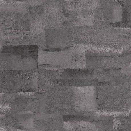 Papier peint effet béton gris foncé - Material - Caselio