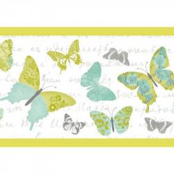Frise pour enfant, Papillon, vert, PRETTY LILI, CASELIO