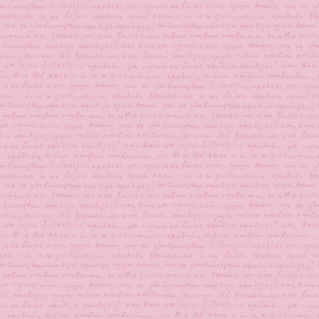 Papier peint Words rose - PRETTY LILI - Caselio - PRLI69124008