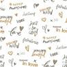 Papier peint pour enfant Darling, or, PRETTY LILI, CASELIO