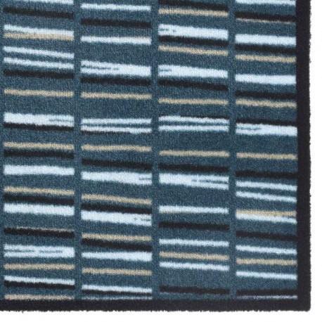 Paillasson / Tapis de propreté PRESTIGE Rayures bleues Hamat