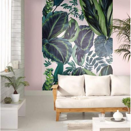Panoramique XL The Pink Jungle Motifs Tropicaux – JUNGLE - Caselio