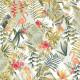 Papier peint Paradise Motifs tropicaux et triangulaires vert – JUNGLE - Caselio