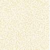 Papier peint Pépins Motifs grains de riz jaune/orangé sur fond blanc – JUNGLE - Caselio