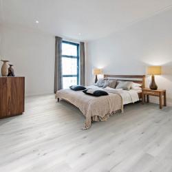 Lames vinyles PVC sous-couche intégrée - Tirolian chêne gris clair - Collection Aria URA Kalinafloor