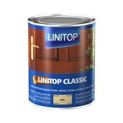 LINITOP CLASSIC 286 chêne moyen - Lasure de protection décorative - 1L