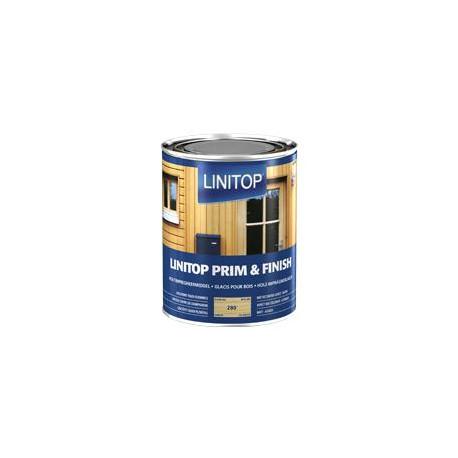 LINITOP PRIM & FINISH 288 chêne foncé - Lasure d'imprégnation transparente - 1L