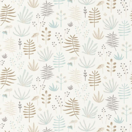 Papier peint Jungle beige - HAPPY DREAMS - Casadeco - HPDM82731209