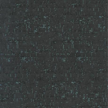 Papier peint LIEGE noir- PANAMA- Casadeco