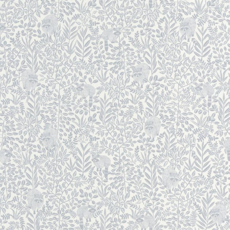 Papier peint FREE SPIRIT gris doux