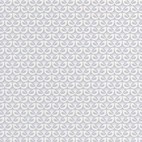 Papier peint FREEDOM gris doux HYGGE - CASELIO