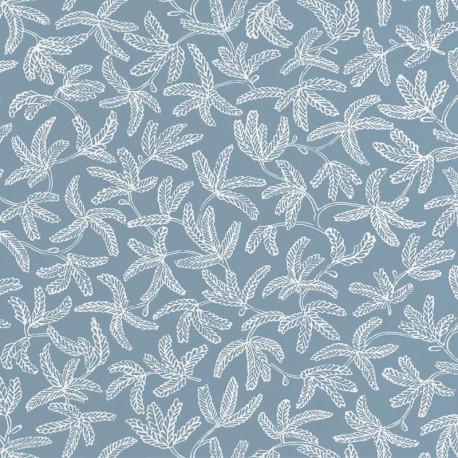 Papier peint COCOON bleu celeste - HYGGE- CASELIO