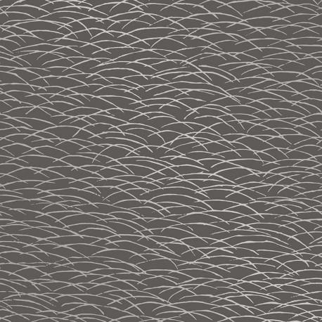 Papier peint Hono noir - TERENCE CONRAN - Lutèce - TC25245