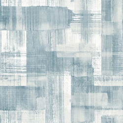 Papier peint TROSA bleu - TERENCE CONRAN- LUTÈCE