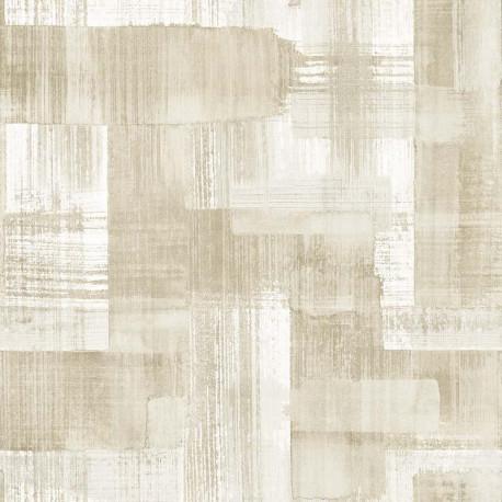 Papier peint TROSA beige - TERENCE CONRAN- LUTÈCE