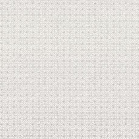 Papier peint intissé GRAPHITE beige clair - Collection PORTFOLIO - CASAMANCE