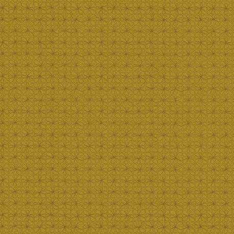 Papier peint Graphite moutarde - PORTFOLIO - Casamance - 73980662