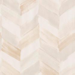 Papier peint à motif Chevrons beige - INSPIRATION WALL - GRANDECO
