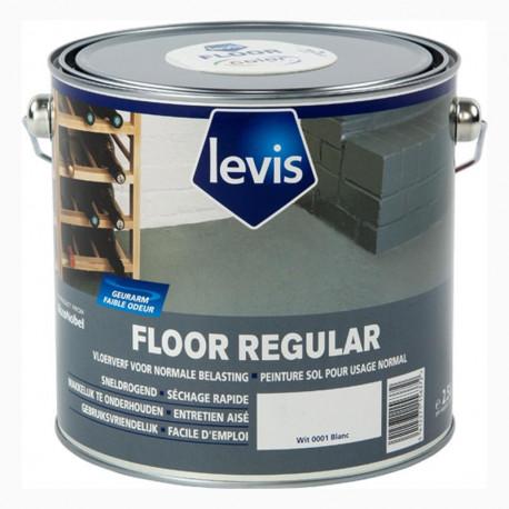 "Peinture sol ""Floor Regular"" blanc 2,5 L LEVIS"