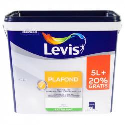 Peinture spécial plafond blanc extra mat - 6L LEVIS