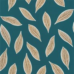 Papier peint Gabon bleu nuit et doré - L'ODYSSEE - Caselio OYS101446733