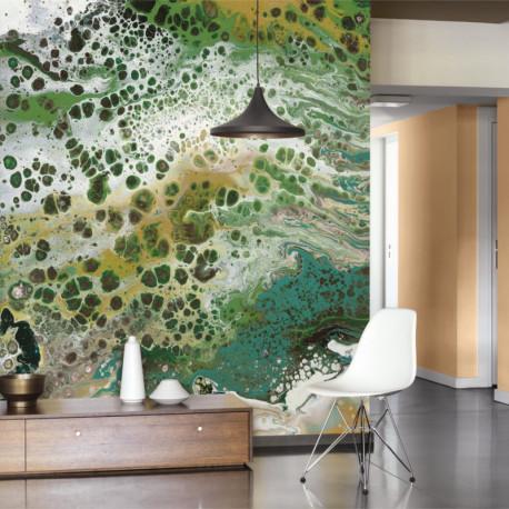 Panoramique JASPE vert - Beauty Full Image par Casadeco