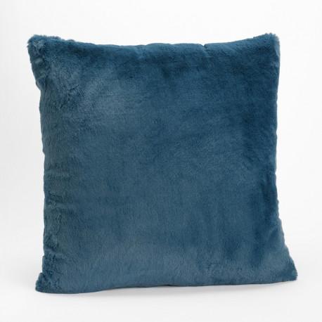 Coussin Luxe bleu nuit tout doux - 50x50cm - Amadeus
