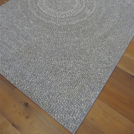 Tapis tissé en corde gris clair - 160x230cm - ESSENZA