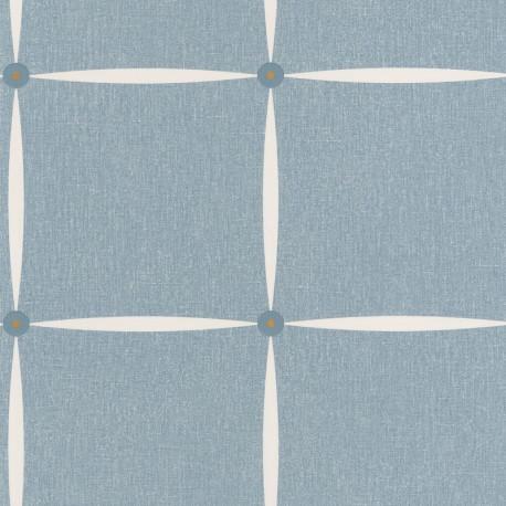 Papier peint Funk bleu madura - MOOVE - Caselio MVE101366617