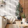 Papier peint Pop gris anthracite gris doux blanc - MOOVE - Caselio MVE101379102
