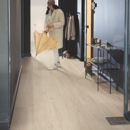Quick Step - Lame PVC à clipser - Livyn Pulse Click - chêne brise marine beige