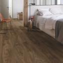 """QUICK STEP - Livyn Balance Click - Lames PVC à clipser """"BACL40027 chêne cottage brun foncé"""" (résistant)"""