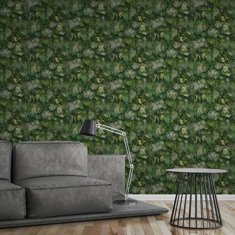Papier peint Jungle amazonia vert 372802 - Greenery - AS CREATION
