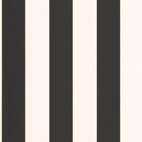 Papier peint Day And Night Noir Blanc -MOONLIGHT- Caselio MLG101189001