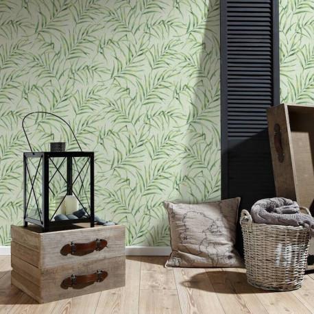 Papier peint Feuillages vert 373353- Greenery - AS CREATION