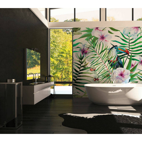 Panoramique Toucan III -11611- Greenery - AS CREATION