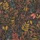 Papier peint Joy rose ocre or fond noir -GREEN LIFE- Caselio GNL101694129