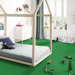 Revêtement PVC uni vert - Largeur 2m - DJ Grass green - Exclusive 260 Tarkett