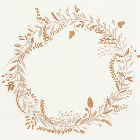Papier peint Harmony beige or -GREEN LIFE- Caselio GNL101681020