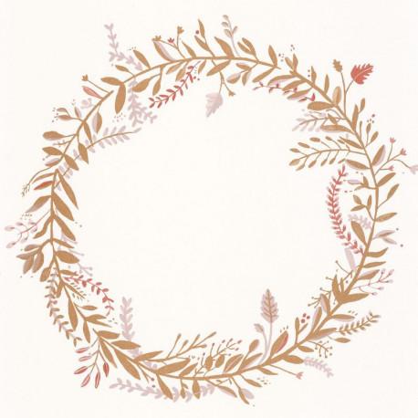 Papier peint Harmony rose or -GREEN LIFE- Caselio GNL101684026